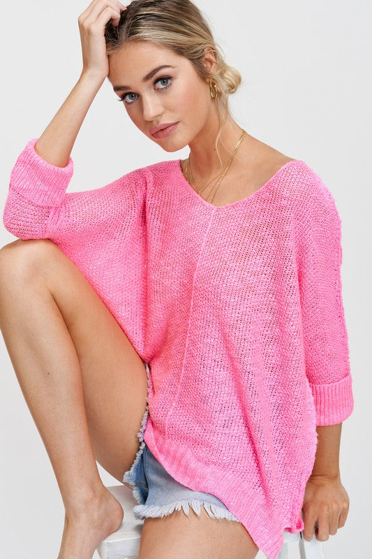 A Little Knit Of Heaven Ultra Pink