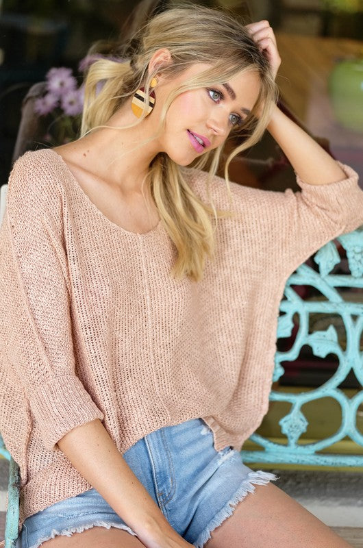 A Little Knit Of Heaven Blush