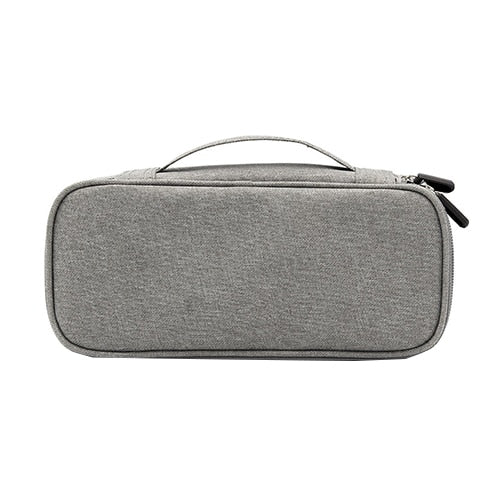 Portable Electronic Organizer Bag For Travelers