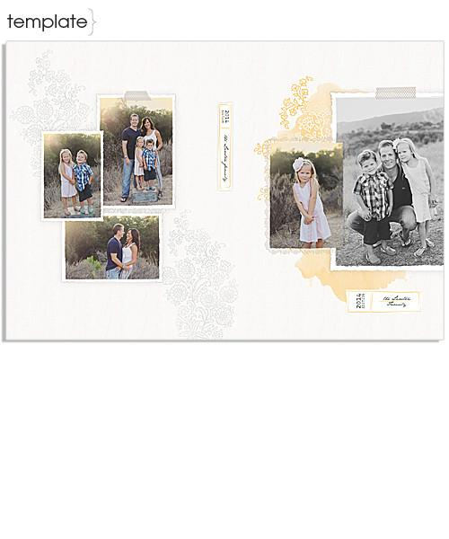 Summer Days 8x12 Miller's Signature Album - 16 Spreads