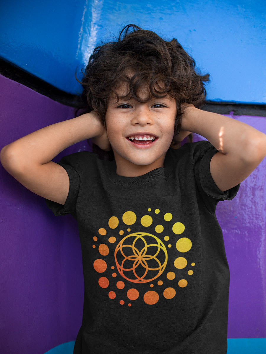 Seed of Life / Galaxy Youth Short Sleeve T-Shirt