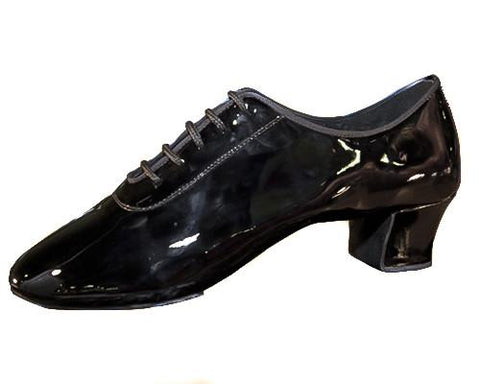 AIDA Patent Leather Tornsberg-Side View | SM Dance Fashion