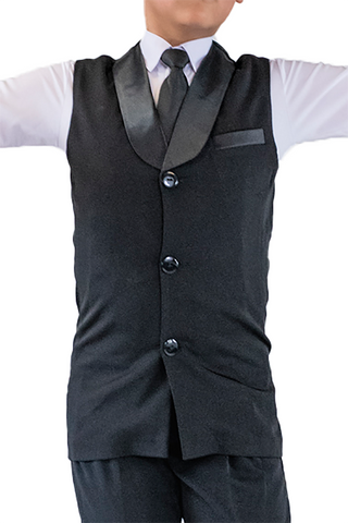 Boy's Ballroom Vest | SM Dance Fashion