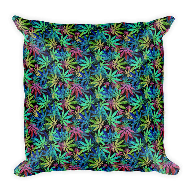 Marijuana Square Pillow