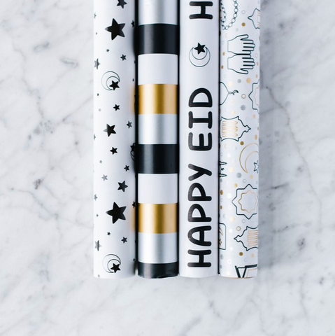 Eid Wrapping Paper Rolls