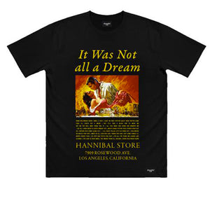 HANNIBAL GONE WITH THE WIND TEE BLACK