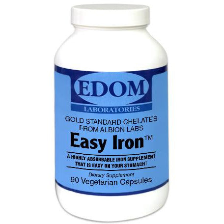 Our Easy Iron 25 mg is a highly absorbable iron supplement that is easy on your stomach.
