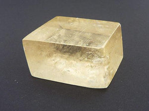 Golden Calcite Rhombic Cubes - Polished C