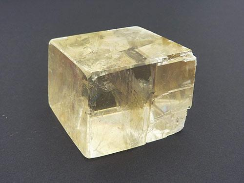 Golden Calcite Rhombic Cubes - Polished