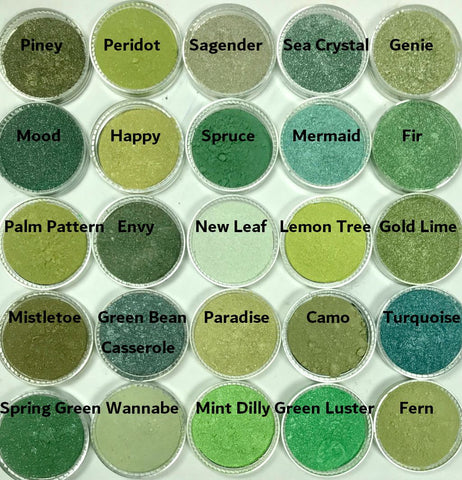 Green Eye Shadows