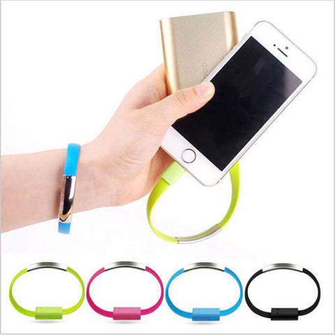 iPhone & Android USB Charing Cable Bracelet