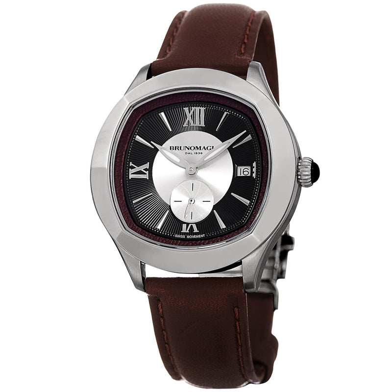 1041 Watch, Dark Brown Dial