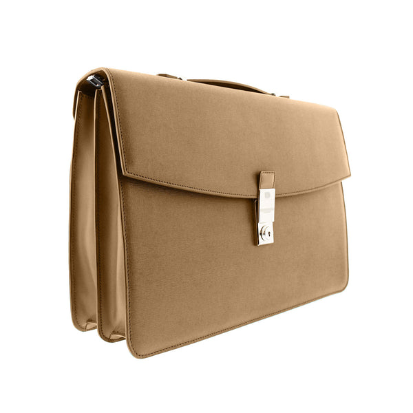 Neoclassico Document Case - Tan