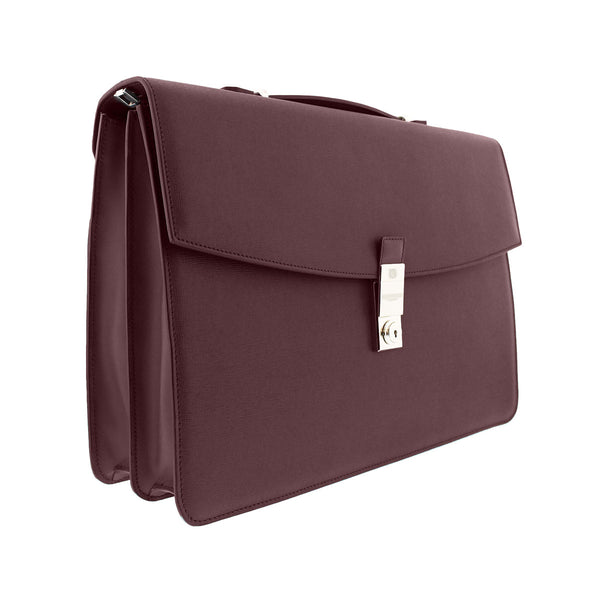 Neoclassico Document Case - Wine