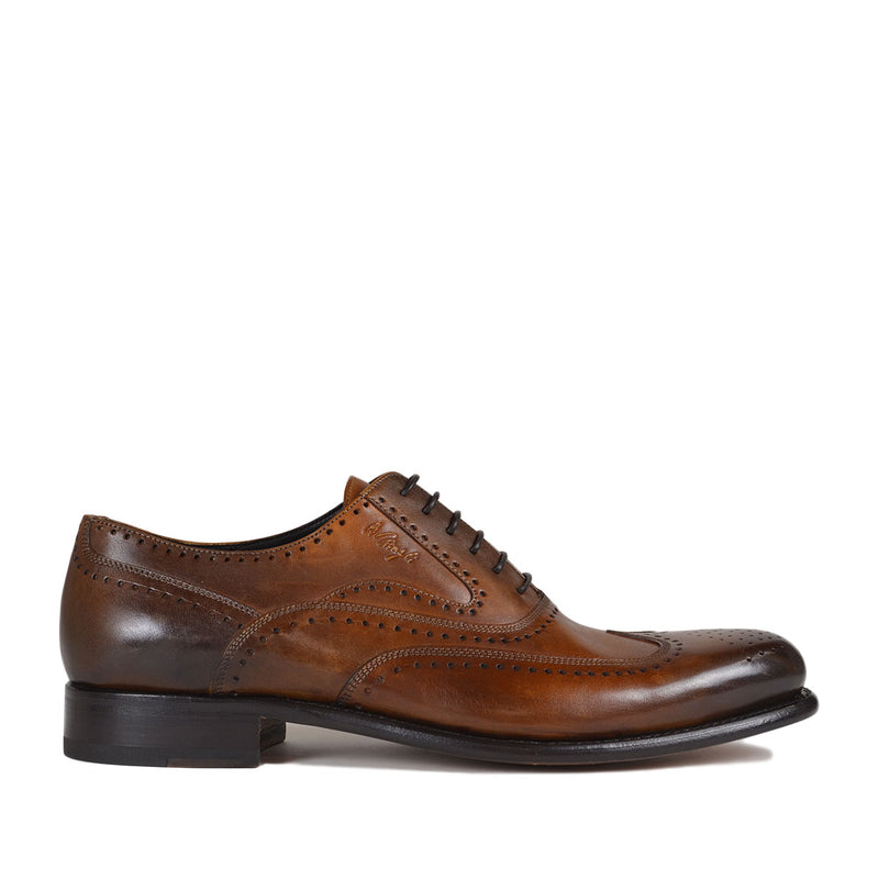 Collezione Adamo Oxford - Cognac Leather - FINAL SALE