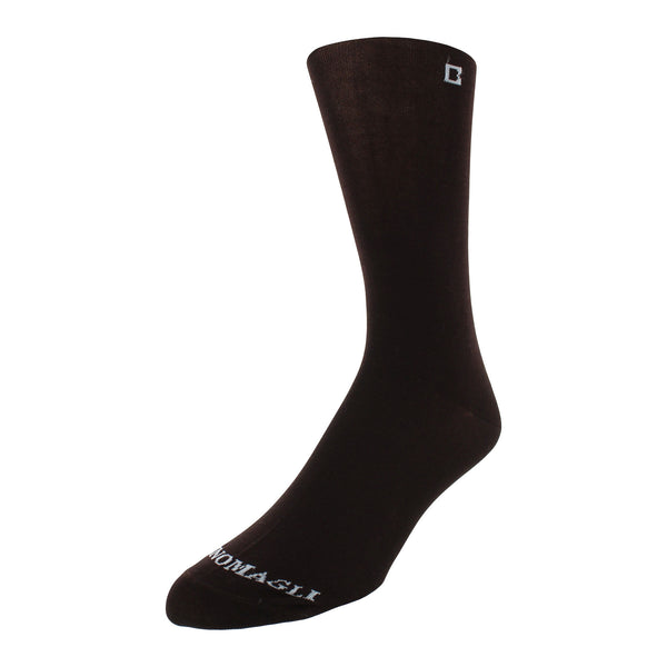 Solid Men's Dress Socks - Brown - FINAL SALE
