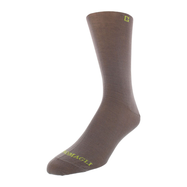 Solid Men's Dress Socks - Grey - FINAL SALE