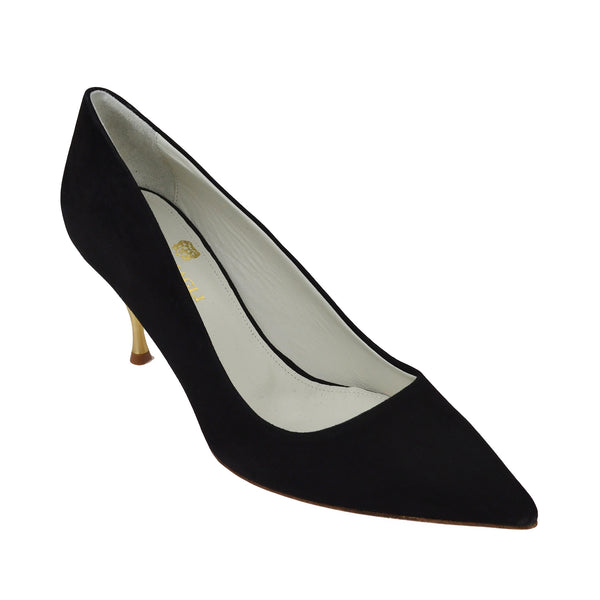 Milla Suede Pump - Black