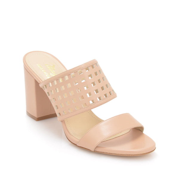 Cathy Sandal, 3-inch - Nude Leather - FINAL SALE