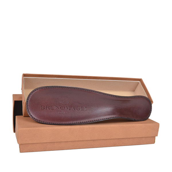 Leather-Covered Shoe Horn