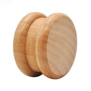 Wooden Grinder with Nail Teeth