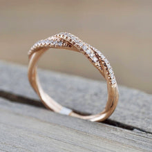 Curve Infinity Stackable Anniversary, Wedding Ring Womens