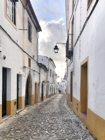 Architektur in Evora Portugal