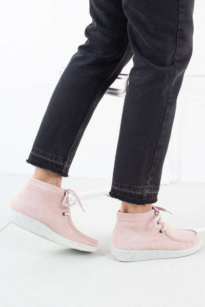 Emma Suede - Baby Pink/White fra Nature Footwear 1
