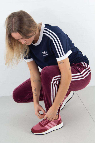 3 Stripes Tee - Navy fra Adidas Originals