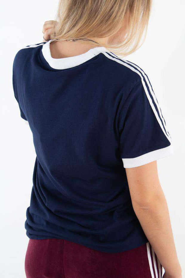 3 Stripes Tee - Navy fra Adidas Originals 4