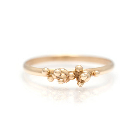 Areia 14K Yellow Gold Ring