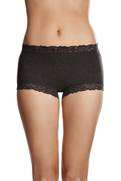 Jockey Parisienne Full Brief Charcoal or Ink Blue