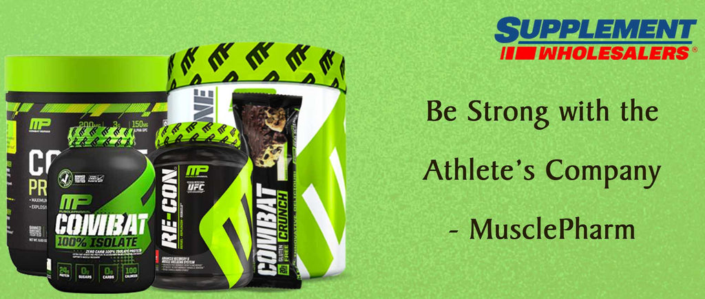 Be Strong with the Athlete's Company - MusclePharm