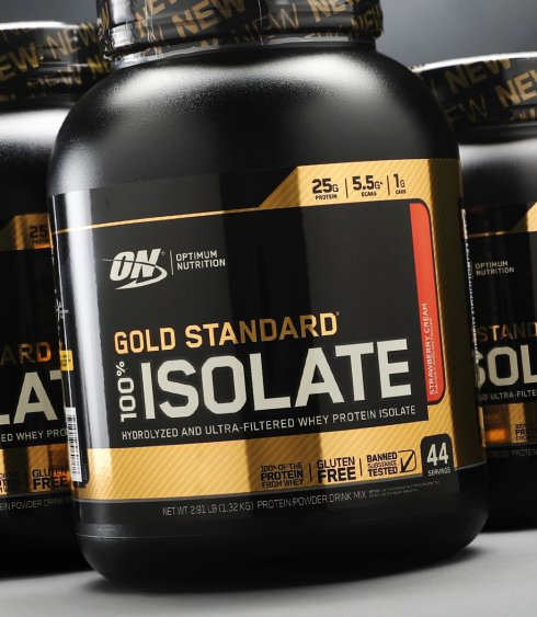 ON Gold Standard 100% ISOLATE Whey Protein Powder