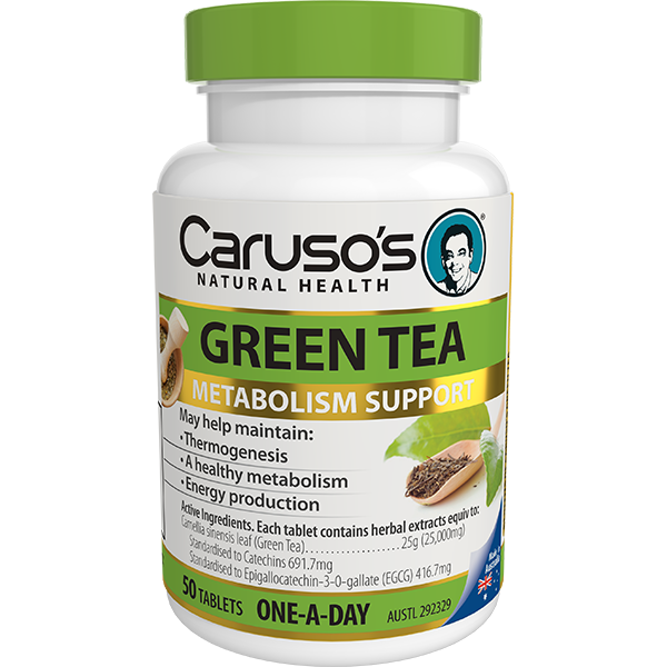Carusos Natural Health Green Tea