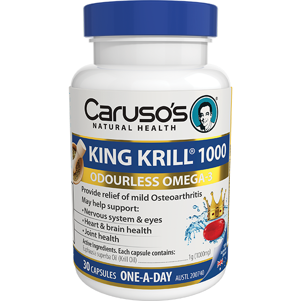 Carusos King Krill 1,000mg