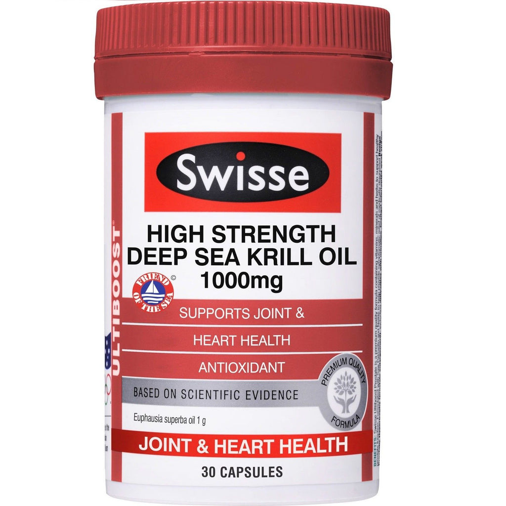 Swisse High Strength Deep Sea Krill Oil 1000mg