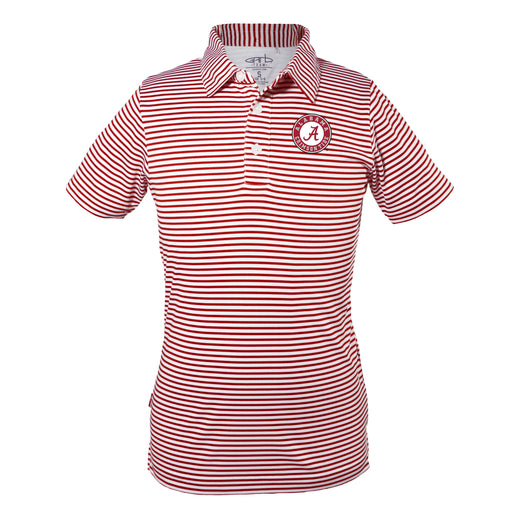 Alabama Crimson Tide Early Season Sideline Quality Performance Polo – Crimson & White