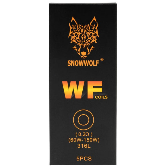 SnowWolf WF Replacement Coils 5 Pack by Sigelei