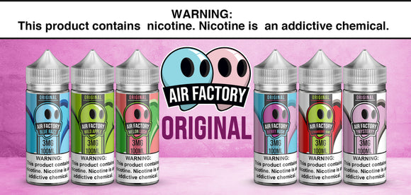 Air Factory Collection 100ml E-Liquid