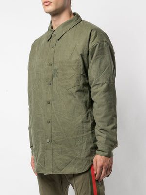 READYMADE MEN DETACHABLE LINING OVERSIZE SHIRT JACKET
