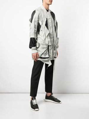 RICK OWENS MEN CUT OUT ROD FLIGHT JACKET