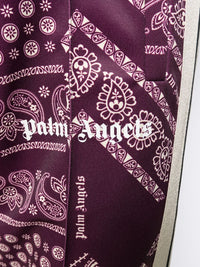 PALM ANGELS MEN BANDANA CLASSIC TRACK PANTS