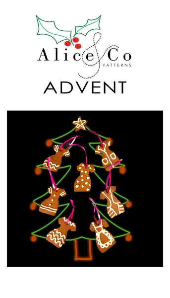 Advent Day 19 + 20: Alice & Co Gingerbread Frocks
