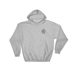 Wojak Grey Anti Single Single Club Hoodie - 9GAG Shop