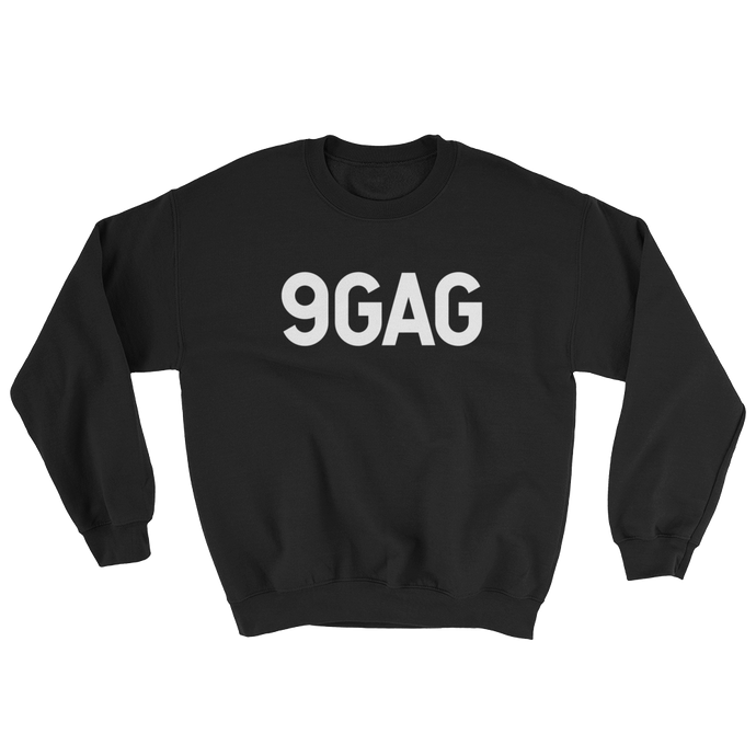 9GAG shop logo Evil Black Sweater