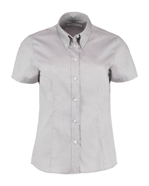 KK701 Kustom Kit Ladies' Corporate Short Sleeve Oxford Shirt