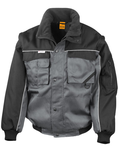 R71X WORK-GUARD by Result Zip Sleeve Heavy Duty Jacket