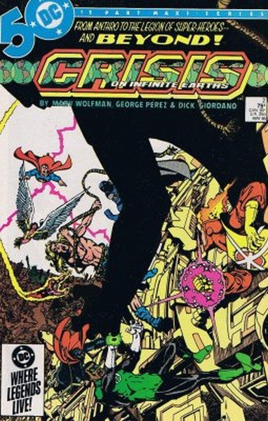 Crisis on Infinite Earths (1985) #2