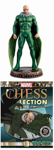 Marvel Chess Figurine Collectors Magazine #94 (Vulture Black Pawn)